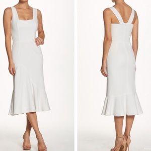 Dress the population Monica crepe midi dress